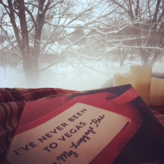 book and snow